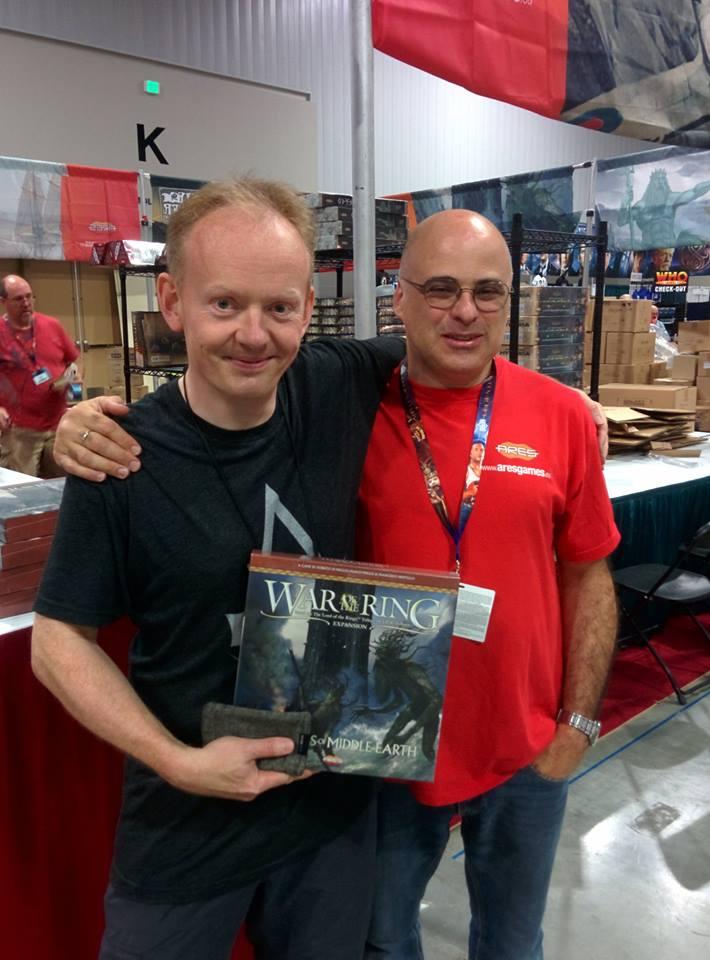 Intervista A Roberto Di Meglio (Ares Games): Gen Con, Lucca, Nuovi Giochi, Mercato, Kickstarter…