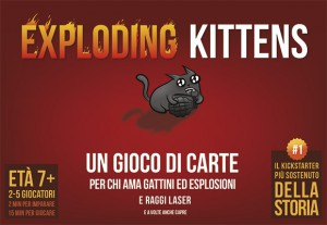 Asmodee Annuncia L'Edizione Italiana Di Exploding Kittens