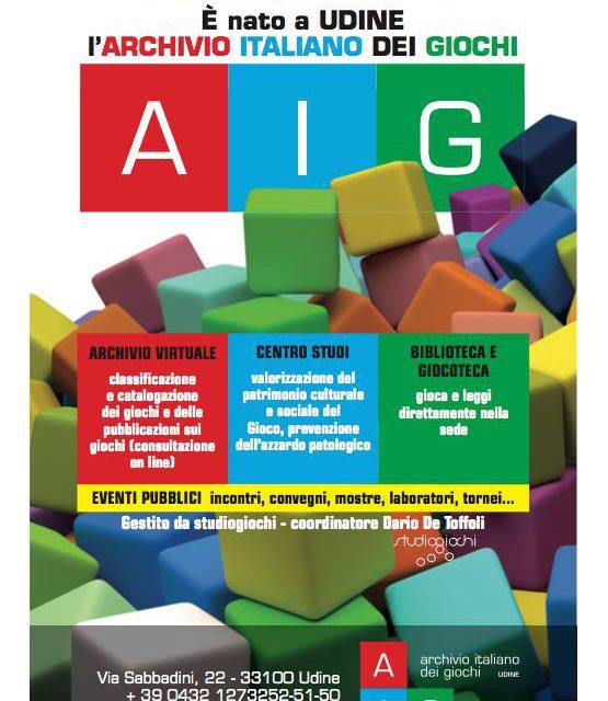 Intervista a Dario De Toffoli sull'archivio italiano dei giochi
