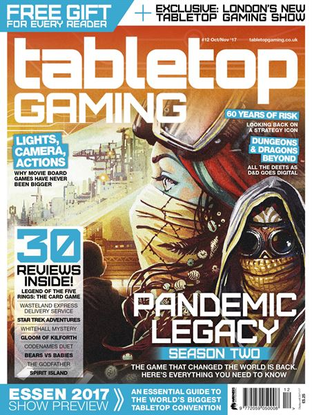 Tabletop Gaming Magazine Diventa Mensile