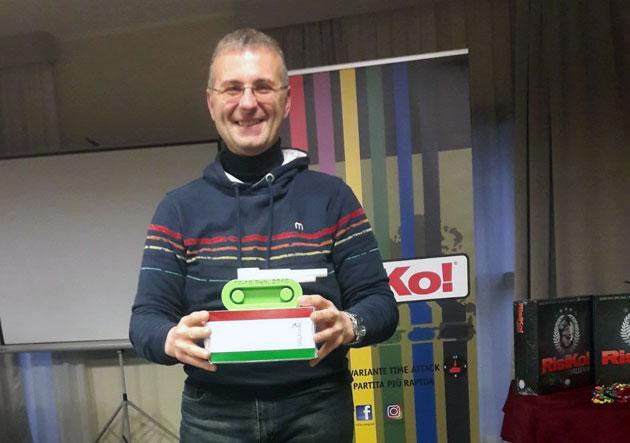AURELIO MAZZE' CAMPIONE ITALIANO DI RISIKO