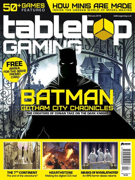 DISPONIBILE IL NUOVO NUMERO DI TABLETOP GAMING MAGAZINE