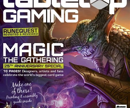 DISPONIBILE IL NUOVO NUMERO DI TABLETOP GAMING: MAGIC, OGRE, RUNEQUEST E I GIOCHI DELLA CIA
