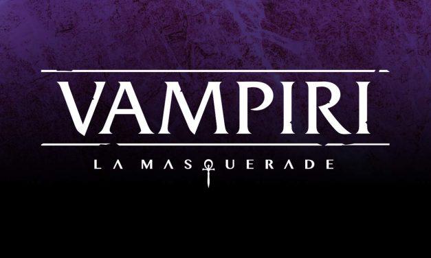 MODIPHUS ENTERTAINMENT PRENDE LE REDINI DI VAMPIRI LA MASQUERADE