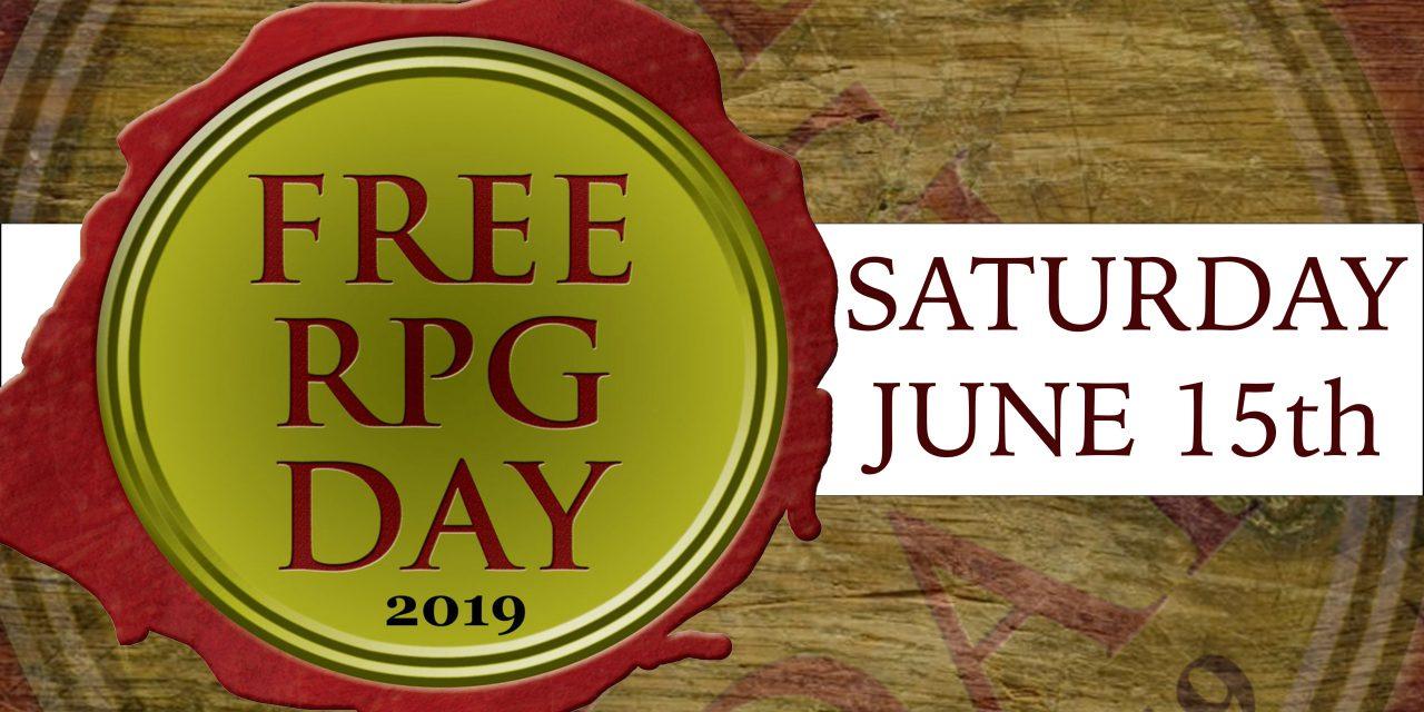 REPORTAGE DEL FREE RPG DAY 2019 A MILANO