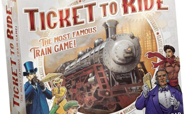 DAYS OF WONDER ANNUNCIA TICKET TO RIDE 15° ANNIVERSARIO