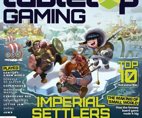 DISPONIBILE IL NUMERO 34 DELLA RIVISTA TABLETOP GAMING