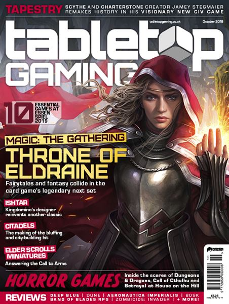 DISPONIBILE IL NUMERO 35 DELLA RIVISTA TABLETOP GAMING
