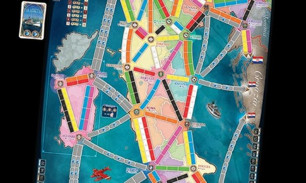 IN USCITA A NOVEMBRE LA MAPPA ITALIANA DI TICKET TO RIDE