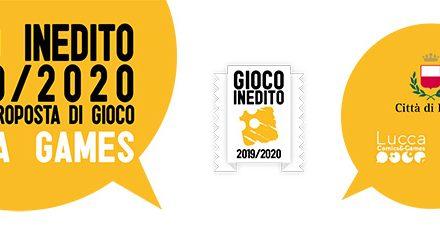 ANNUNCIATI I FINALISTI DEL GIOCO INEDITO 2019/2020 DI LUCCA COMICS & GAMES