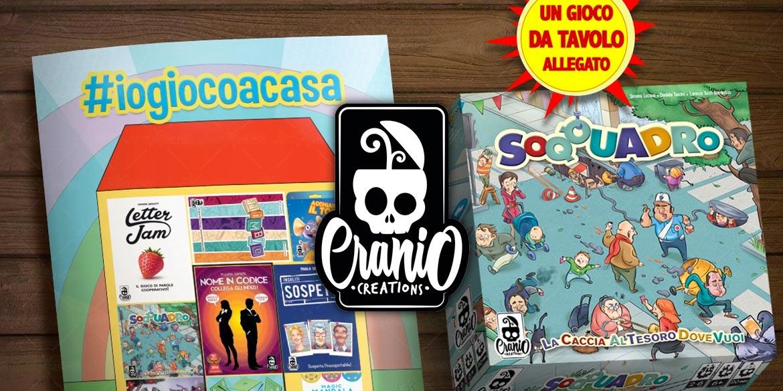 """INTERVISTA A CRANIO CREATIONS SULL'INIZIATIVA """"GIOCHI IN EDICOLA"""""""
