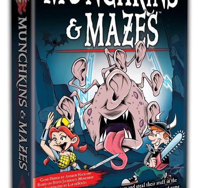 STEVE JACKSON GAMES ANNUNCIA MUNCHKINS AND MAZES