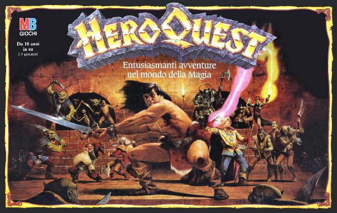 "RESTORATION GAMES CHIEDE LA REGISTRAZIONE DEL MARCHIO ""HEROQUEST LEGACIES"""